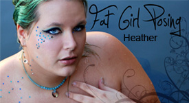 Fat Girl Posing