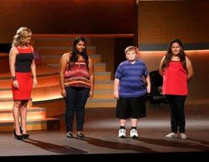 Allison Sweeney, Sunny, Biingo, and Lindsay