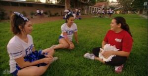 Lindsay Cheerleaders