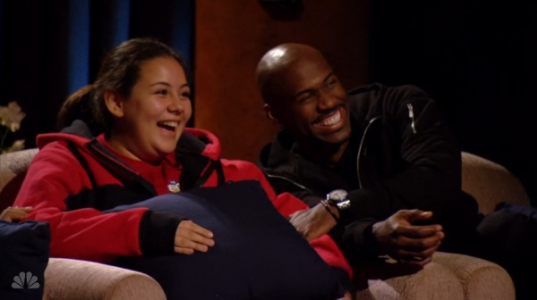Dolvett and Lindsay Laughing