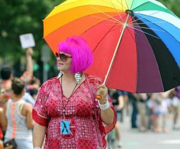 Big Fat Gay Umbrella