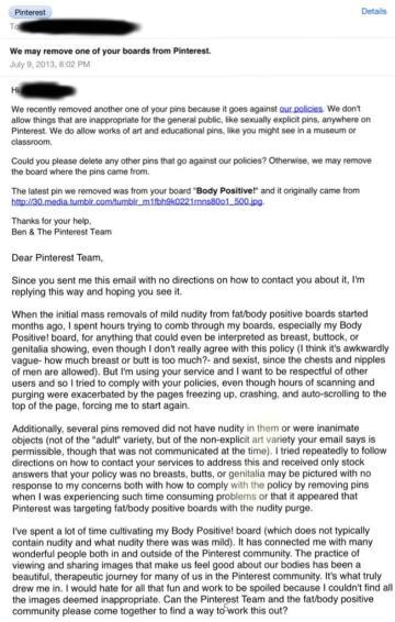Pinterest Letter