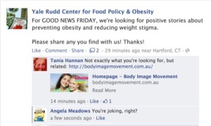 Rudd Center Good News Friday