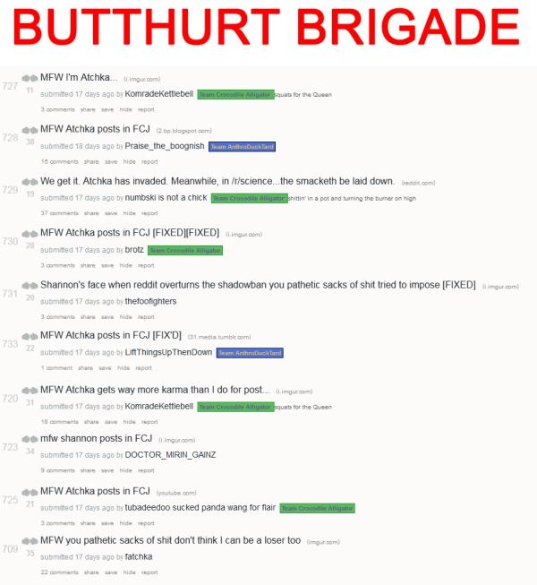 Butthurt Brigade