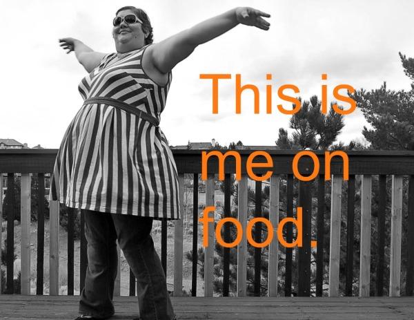 me on food