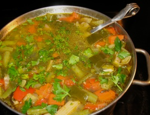 Vegetable Soupo