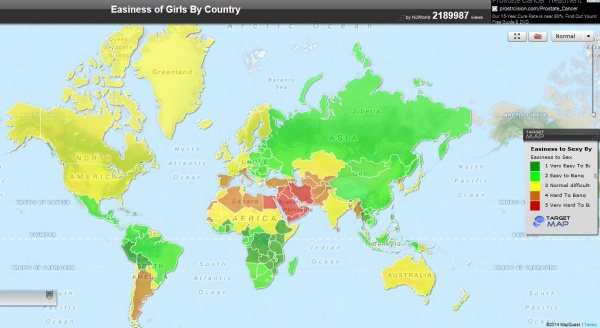 Easiness Map
