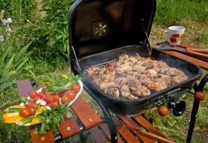 Grilled Meat & Vegetables