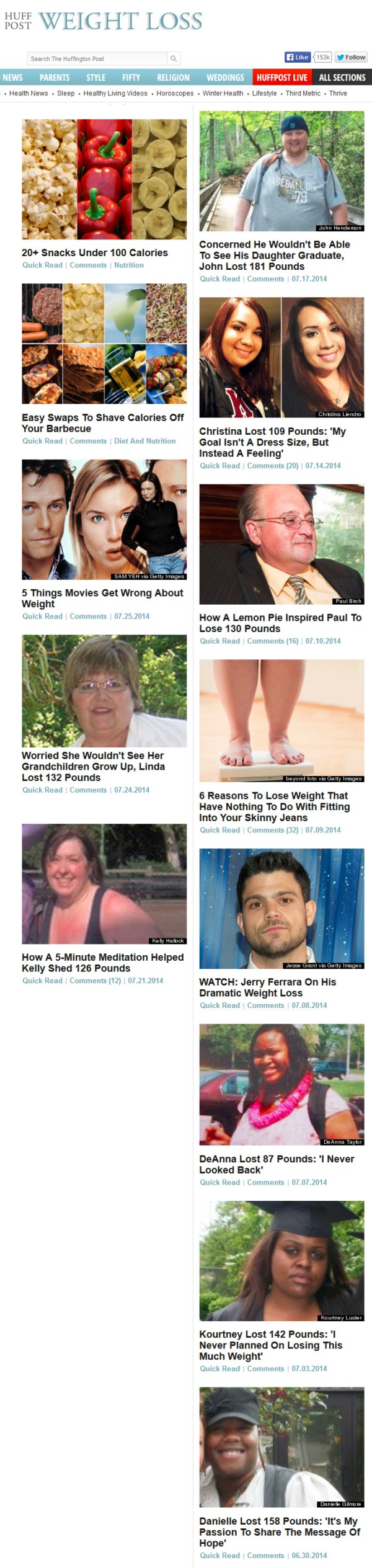 HuffPost Weight Loss